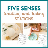 Five Senses - Smelling and Tasting Stations