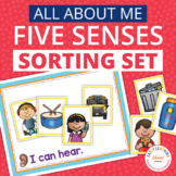 Five Senses Sorting Activity for Preschool and Pre-K