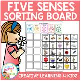 Five Senses Sorting Boards