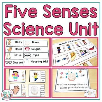 Five Senses  (Special Education Science Unit)