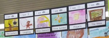 Five Senses Student Display