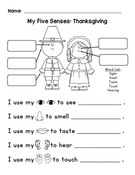 Five Senses - Thanksgiving