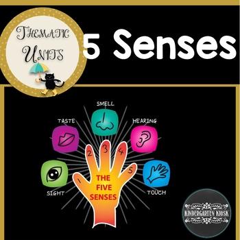 Five Senses Thematic Unit
