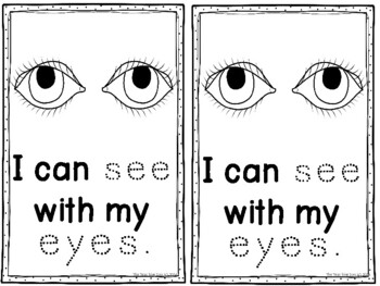 Five Senses Theme Learning Pack