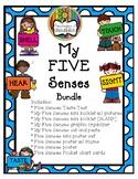 My Five Senses Unit
