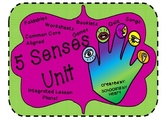 Five Senses Unit Study: Two Week Integrated Unit! (Great 4 Interactive Notebook)