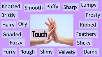 Five Senses Writing Posters