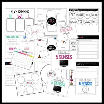Five Senses and Observations Digital Resources
