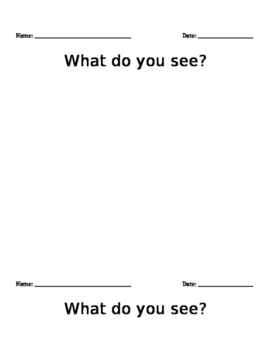 Five Senses graphic organizer