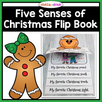 Five Senses of Christmas Flip Book