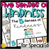 Five Senses of Kindness Character Activity | Special Educa
