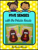 Five Senses with Mr. and Mrs. Potato Head