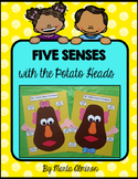 Five Senses with Mr. and Mrs. Potato Head