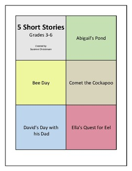 Five Short Stories for Intermediate Readers