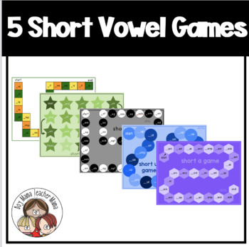 Five Short Vowel Games for Young Learners