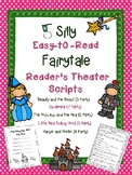 """Five Silly """"Easy-to-Read"""" Fairytale Reader's Theater Scripts"""