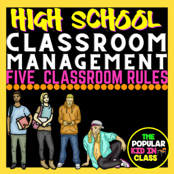 Five Simple Rules for the High School Classroom Poster