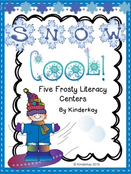 Five Snow Cool Frosty Literacy Centers