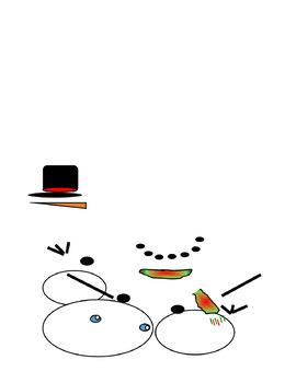 Five Snowmen Poem