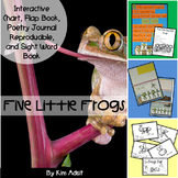 Sight Word Reader and Interactive Charts: Five Speckled Frogs