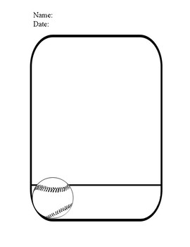 Five Sports Cards Templates