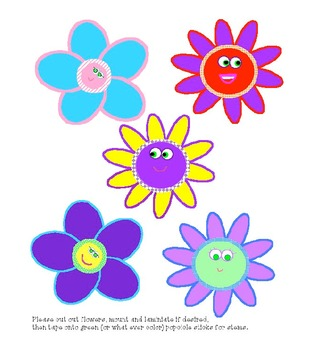 Five Spring Flowers Felt Board Story Plus Extras!