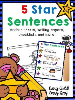 Five Star Sentences for Little People