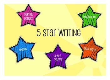 Five Star Writing Dice