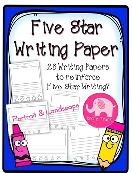 Five Star Writing Paper