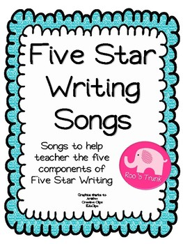 Five Star Writing Songs