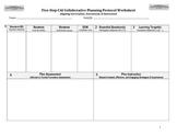 Five-Step Collaborative Planning Worksheet