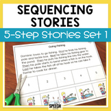 Five Step Sequencing Stories Set 1