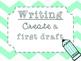 Five Step Writing Process Posters {Pastel Chevron}