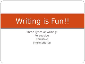Five Steps of Writing