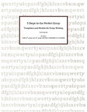 Five Steps to the Perfect Essay