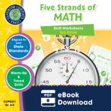 Five Strands of Math - Drills BIG BOOK Gr. 3-5