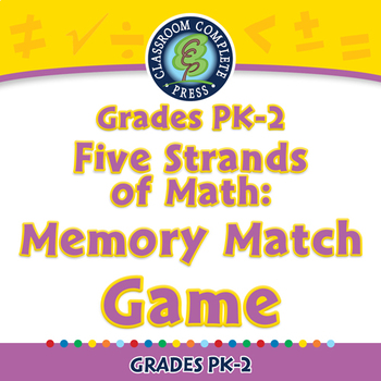 Five Strands of Math: Memory Match Game - MAC Gr. PK-2
