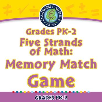 Five Strands of Math: Memory Match Game - PC Gr. PK-2
