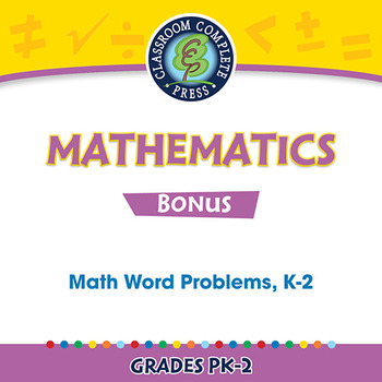 Five Strands of Math - Task & Drill Sheets Gr. PK-2 - BONUS WORKSHEETS
