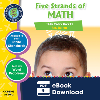 Five Strands of Math - Tasks BIG BOOK Gr. PK-2