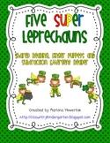 Five Super Leprechauns Subtraction Emergent Reader Finger Puppets and More