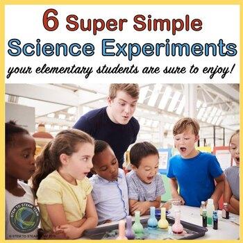 Bundle: Five Super Simple Science Experiments