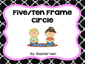 Five/Ten Frame in a Circle