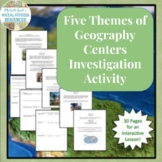 Five Themes of Geography Centers Investigation Activity