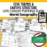 Five Themes of Geography Lesson Plan Guide for World Geogr