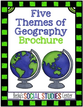 Five Themes of Geography Brochure