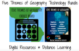 Five Themes of Geography Choice Board and Hyperdoc Bundle