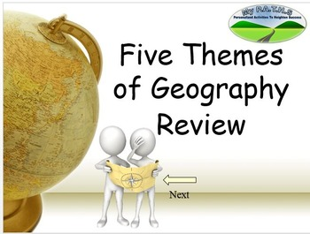 Five Themes of Geography Jeopardy Game