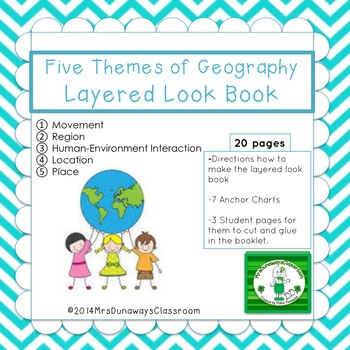 Five Themes of Geography Layered Look Book