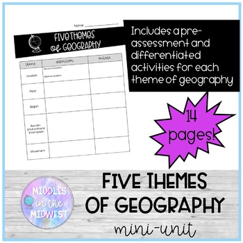 Five Themes of Geography Mini-Unit